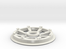 Belt disk right side 180ZHTD3M12mm 32 spokes in White Strong & Flexible