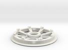 Belt disk right side 180ZHTD3M12mm 32 spokes in White Strong & Flexible