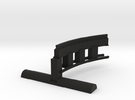Bradford & Foster Brook Curved Rail in Black Strong & Flexible