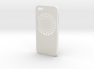 iPhone 5 FLWR Case in White Strong & Flexible