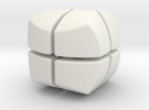 Mini Hexaball 2x2 in White Strong & Flexible