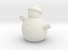 Snowman in White Strong & Flexible