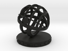 TalentSphere 3D with Stand in Black Strong & Flexible