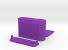 GPS logger case in Purple Strong & Flexible Polished