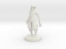Ninja statue in White Strong & Flexible