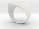 V Ring in White Strong & Flexible