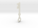 TF2 Mann Co. Supply Crate Key in Transparent Acrylic