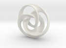 large trefoil mobius torus in White Strong & Flexible