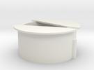 Wisseldeksel in 3D in White Strong & Flexible