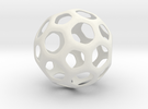 Hive Ball Large in White Strong & Flexible