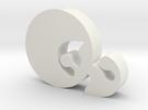Elancla1 65 in White Strong & Flexible