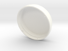 Locking drive cap in White Strong & Flexible Polished