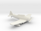 1:144 T6 TEXAN MATRA SNEB 37mm ROCKET  in White Strong & Flexible