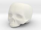 Skull Pot V3 - H100MM in White Strong & Flexible