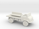 1:144 MERCEDES BENZ UNIMOG 404S troop carrier in White Strong & Flexible