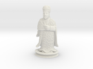 Traditional Cantonese Bishop Statuette 174mm in White Strong & Flexible