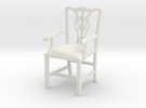 "Cambridge Councill Arm Chair 3"" tall in White Strong & Flexible"