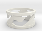 Surf/Wave Ring in White Strong & Flexible