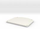 Arduino TFT Gehaeuse Rueckseite2 in White Strong & Flexible