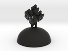 Mini Light Form - Hilbert Cube in Black Strong & Flexible
