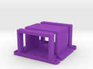 Naza Mount Cage in Purple Strong & Flexible Polished