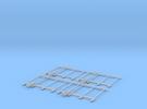 Bühnengeländer 1:32/1:35 4x in Frosted Ultra Detail