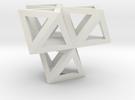 tetraeder mit oktaedern in White Strong & Flexible