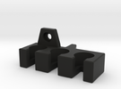 Cable Holder for Panasonic Monitor - RIGHT in Black Strong & Flexible