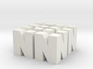 Nintendo N64 Logos in White Strong & Flexible