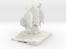 Adventure Time Tree House Mini in White Strong & Flexible