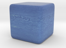 Cube Planet : Neptune, 1 inch in Full Color Sandstone