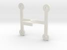 DSLR_Driverboard_holder in White Strong & Flexible