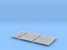 Türen und Füllstücke f. MT, 4x in Frosted Ultra Detail
