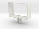 GoPro Hero3 Frame (reversed) in White Strong & Flexible