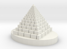 Big Pyramid in White Strong & Flexible