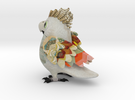 Macaw Painted Shapeways in Full Color Sandstone