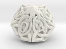 Celtic D10 - Solid Centre for Plastic in White Strong & Flexible