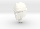 Blackarachnia Head For TFP RID RC R in White Strong & Flexible Polished