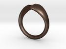 Ring-1 in Matte Bronze Steel