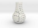 Small Sept Vase in White Strong & Flexible