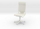 Gi Joe Office Chair in White Strong & Flexible
