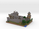MineCastle in Full Color Sandstone
