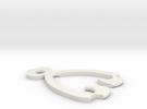 Ridgeline Clip III in White Strong & Flexible