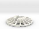 3D Scanner Turntable V23 - Holder in White Strong & Flexible