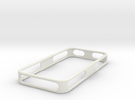 iPhone 4/4S Bumper v1.2 in White Strong & Flexible