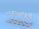 HO/1:87 Crane boom segment short 27.5x32.5 in Frosted Ultra Detail