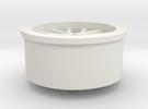 Wheel - miniz size -1.1mm shaft in White Strong & Flexible