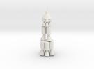 JPL NOVA Moon Rocket in White Strong & Flexible