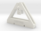 TrackToolz S Gauge Spacing Tool in White Strong & Flexible