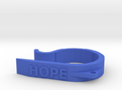 Capeze Hope  in Blue Strong & Flexible Polished